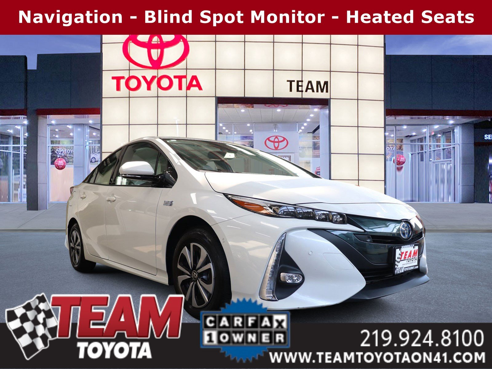Certified Pre-Owned 2017 Toyota Prius Prime Advanced